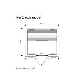 category Fonteyn | Infraroodcabine Ivar 2 | Actie 400025-10