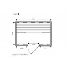 category Fonteyn | Infraroodcabine Levi 4 Exclusive | FS 400029-10